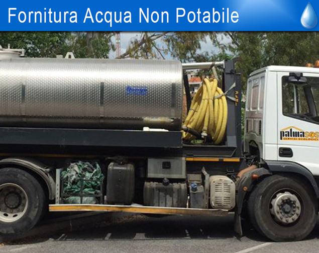 Fornitura Acqua non potabile